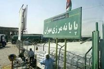 تردد 50 هزار نفر از مرز مهران تاکنون کاهش تردد مسافران ایرانی نسبت به سالهای گذشته