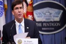سرپرست پنتاگون: به فشارهای حداکثری علیه ایران ادامه خواهیم داد