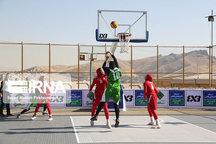 قزوین قهرمان رقابتهای بسکتبال قهرمانی بانوان کشور شد