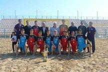 حمایت و تمرین، رمز قهرمانی هندبال ساحلی اصفهان بود
