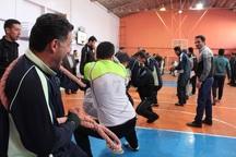 دومین جشنواره ورزشی کارمندان دولت در یزد آغاز شد