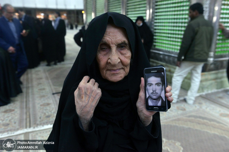 تجدید میثاق مادران شهدا با آرمان های حضرت امام خمینی(س)