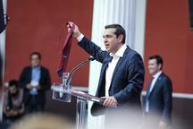 اقدام نمادین نخست وزیر یونان در برابر اتحادیه اروپا+ عکس