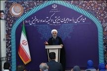 رئیسجمهور روحانی: دولت حمایت از عزیزان تحت پوشش کمیته امداد و سازمان بهزیستی را وظیفه انسانی، اسلامی و قانونی خود میداند/ افزایش سه برابری کمکبه مددجوان به معنای اراده و توانمندی دولت است؛ این مسیر ادامه مییابد