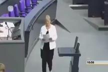 برخورد رئیس مجلس آلمان با صدراعظم این کشور