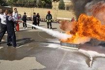 نکات ایمنی آتش نشانی در 300 مدرسه در تبریز آموزش داده می شود