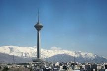 کیفیت هوای تهران با شاخص 57 سالم است