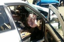 7 مصدوم در تصادف جاده رحیم آباد-دانسفهان  در قزوین