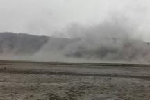 گرد و غبار ایذه را دربرگرفت