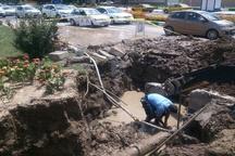 علت ترکیدگی لوله آب خیابان حافظ مشخص نشده است