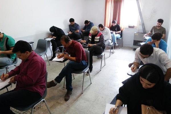 برگزاری آزمون متقاضیان تأسیس آموزشگاههای آزاد هنری در گیلان