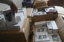 گوشی های قاچاق میلیاردی در اردبیل کشف شد