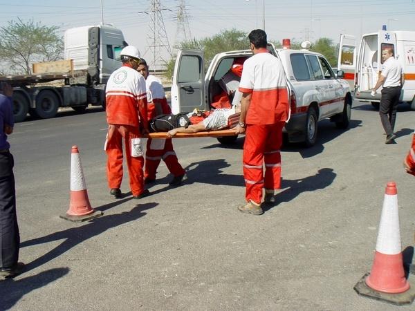 فعالیت 10 پایگاه ثابت هلال احمر در ایام نوروز  توجه به توانمندسازی نیروهای امدادی در یزد