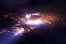 تشریح اقدامات مقابله با آتش سوزی در کوه های اطراف بهبهان