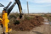 اجرای طرح توسعه شبکه آبرسانی روستای گورابجوار