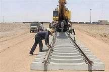 30 کیلومتر از راه آهن  نقده – ارومیه ریل گذاری شد