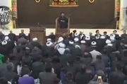 مراسم شام غریبان در حرم امام خمینی(س) با سخنرانی حجت الاسلام والمسلمین ابوترابی فرد