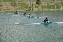 قایقرانان همدانی برای سهمیه المپیک 2020 پارو می زنند