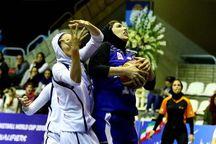 دختران قزوینی در مسابقات بسکتبال امیدهای کشور سوم شدند