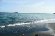 خلیج گرگان با کاهش تراز آب خزر درآستانه خشکی است