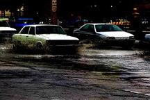 آبگرفتگی معابر بر اثر بارش 12 ساعته باران در ارومیه