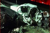 2 کشته درحادثه رانندگی محور قوچان – چناران