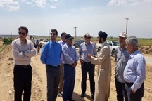 بازدید مدیرعامل منطقه ویژه اقتصادی پتروشیمی از مناطق سیل زده حمیدیه و دشت آزادگان