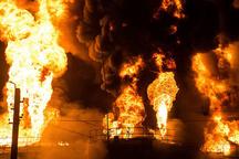 اعلام علت حادثه آتشسوزی پتروشیمی آبادان  بررسی میزان خسارت توسط کارشناسان بیمه