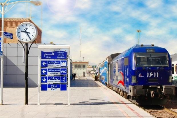 758 هزار مسافر توسط راه آهن قم جابه جا شدند