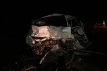 تصادف در یاسوج یک کشته و 3 زخمی برجا گذاشت