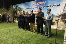 تجلیل از قهرمانان فوتسال و فوتبال خوزستان