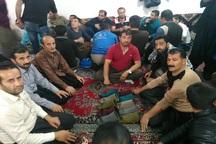 مسابقه محلی جورابین در تکاب برگزار شد
