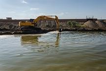 نجات آق قلا و گمیشان از سیلاب با حفر خندق و حصار