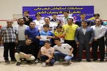 رقابت اسکواش دانش آموزان کشور با معرفی نفرات برتر پایان یافت