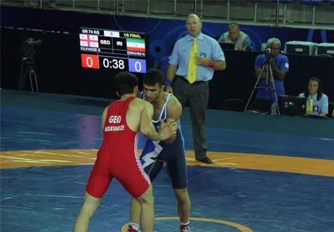 قهرمانی زود هنگام ایران در رقابتهای کشتی فرنگی جوانان جهان