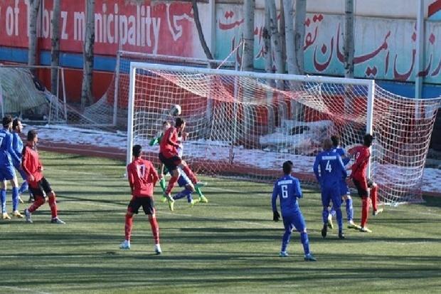 تیم شهرداری تبریز مس رفسنجان را با شکست بدرقه کرد