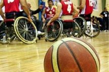 تیم بسکتبال با ویلچر اراک بر شهید فیاض بخش مشهد غلبه کرد