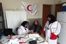100 بیمار سیروانی از خدمات رایگان هلال احمر برخوردار شدند