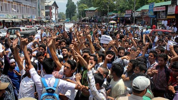 تظاهرات هند