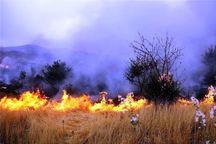 2 هکتار از گندمزارهای خرم آباد در آتش سوخت