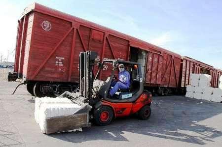 380 هزار تن کالا در مرز ریلی سرخس جا به جا شد