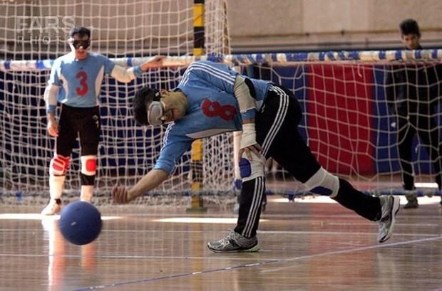 تویسرکان صدرنشین لیگ دسته یک گلبال کشور شد