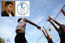 مسابقات والیبال جام محلات در سنندج برگزار میشود