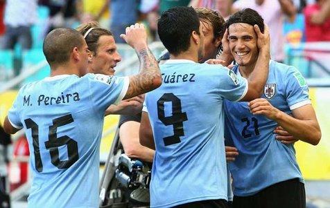 اسامی بازیکنان اروگوئه برای جام جهانی روسیه