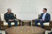 تشکر بشار اسد از حمایت های ایران در مبارزه با تروریسم