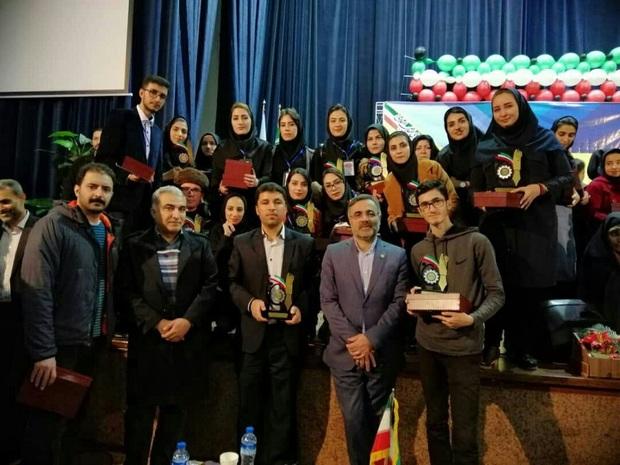 افتخارآفرینی پیام نور چهارمحال وبختیاری در جشنواره  ملی دستاوردها