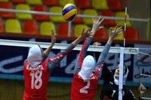 نتایج روز نخست مسابقات والیبال بانوان کارمند کشور مشخص شد