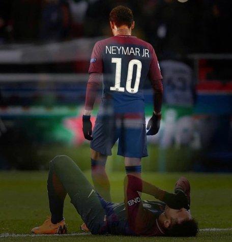 حرف های نیمار پس از حذف پاری سن ژرمن از لیگ قهرمانان