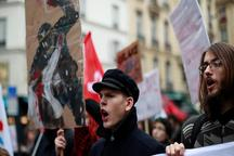 شنبه و یکشنبه سخت در انتظار دولت ماکرون/ اعتراض های جدید در فرانسه/ بازداشت 700 دانش آموز