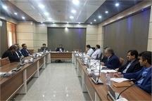 جلسه بررسی وضعیت پرداختی تسهیلات حوادث غیر مترقبه در خوزستان